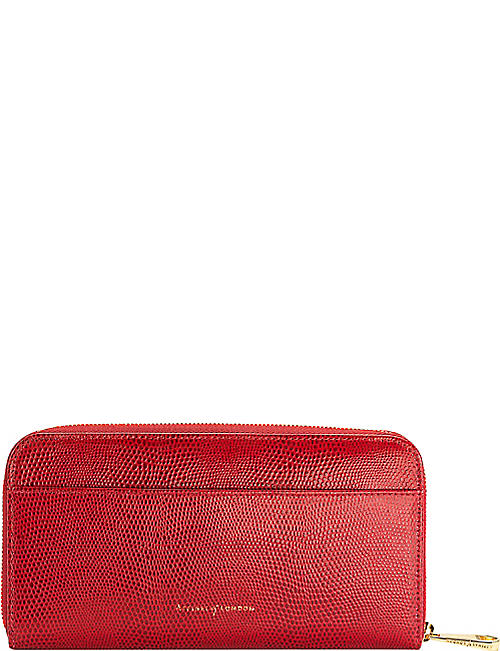 426e58eabacd ASPINAL OF LONDON Continental leather zip-around wallet