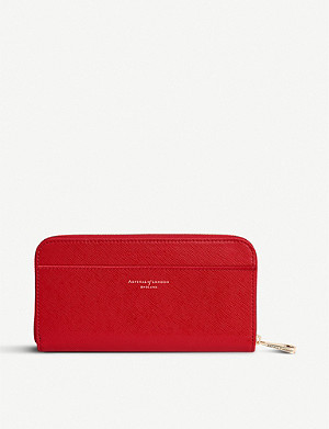 ASPINAL OF LONDON Continental leather clutch wallet