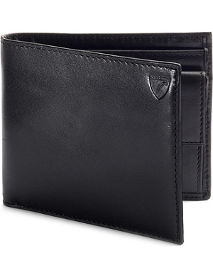 ASPINAL OF LONDON Leather billfold coin wallet
