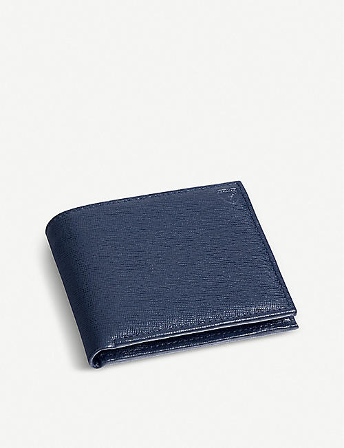 ASPINAL OF LONDON Billfold leather coin wallet