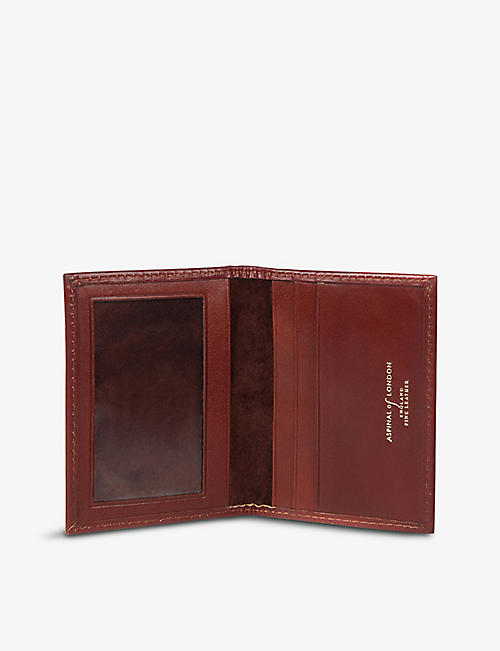 ASPINAL OF LONDON ID & Travel leather card case