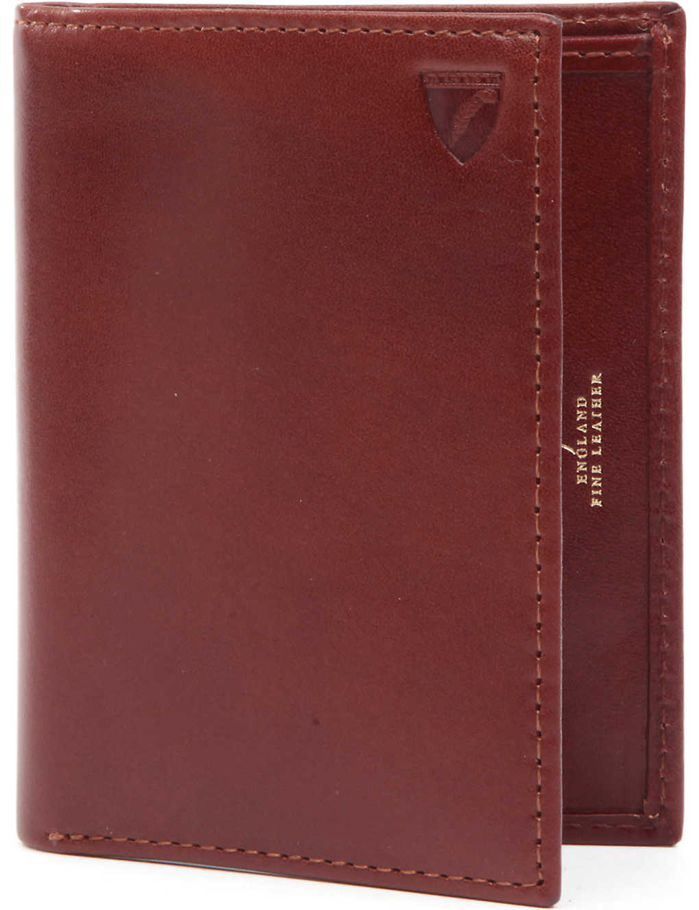 the latest 82d37 de58d Double-fold leather card holder