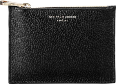 ASPINAL OF LONDON Essential small leather pouch