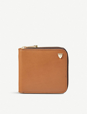 ASPINAL OF LONDON Mount Street smooth leather wallet