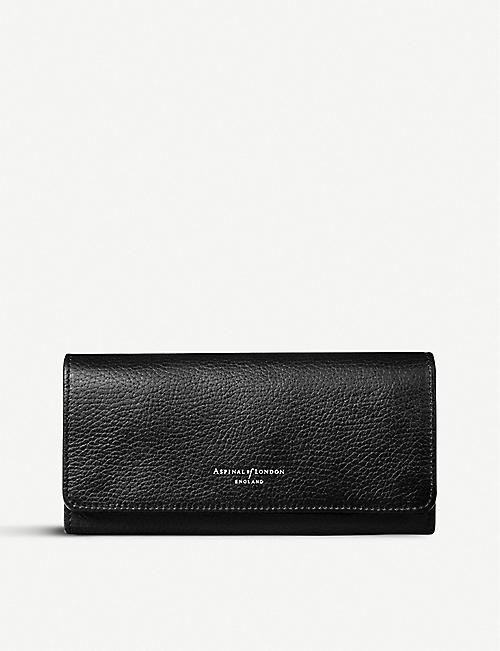 ffb33b9d933 ASPINAL OF LONDON Lottie pebble leather purse