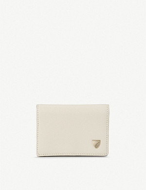 ASPINAL OF LONDON Accordion leather card holder