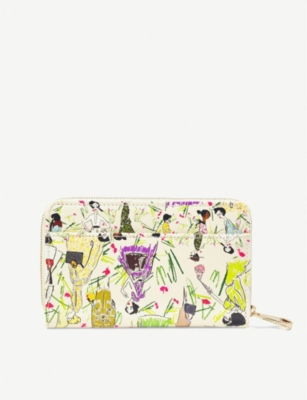 ASPINAL OF LONDON Giles Deacon X Aspinal of London Midi Continental leather purse