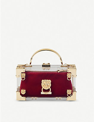 ASPINAL OF LONDON: Trinket internal velvet pouch