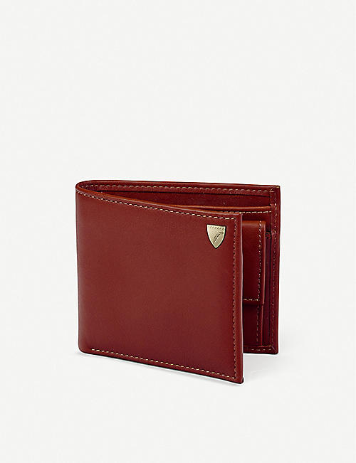 ASPINAL OF LONDON Billfold eight-card leather wallet