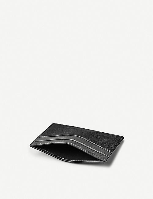ASPINAL OF LONDON Slim leather cardholder