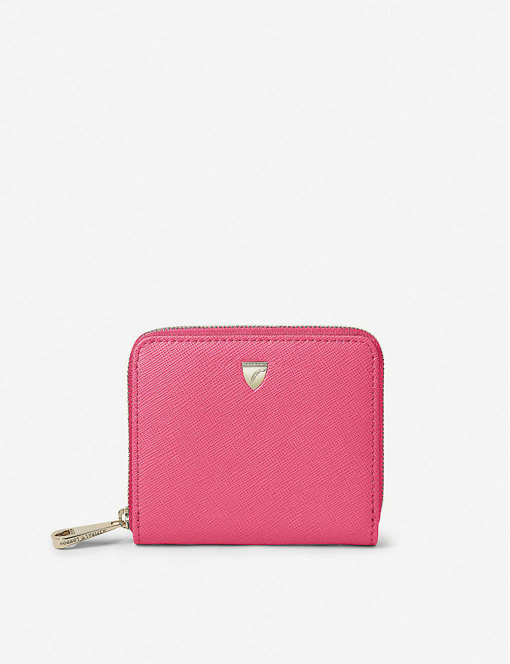 ASPINAL OF LONDON: Slim Mini Continental leather purse