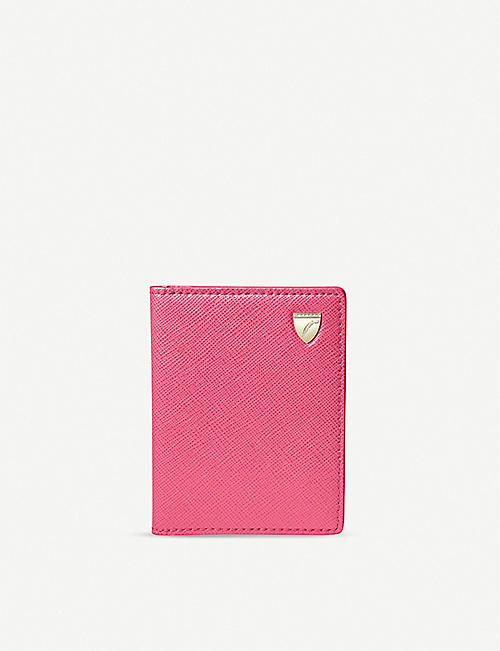 ASPINAL OF LONDON: ID & travel card leather case