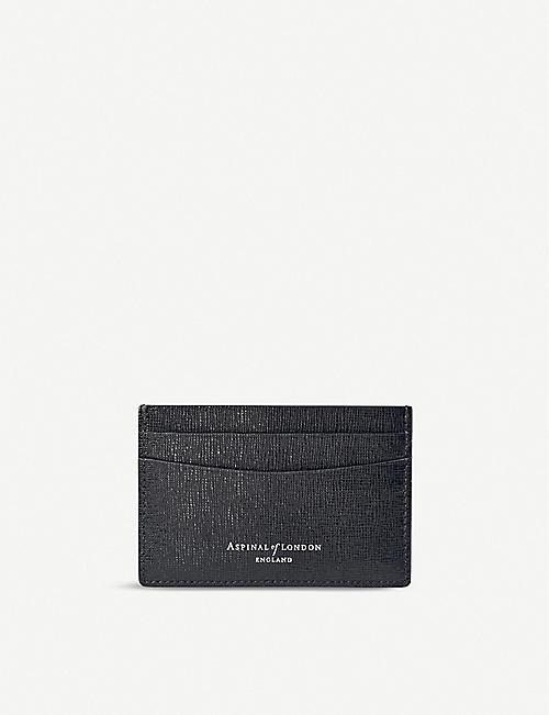 ASPINAL OF LONDON: Slim leather cardholder
