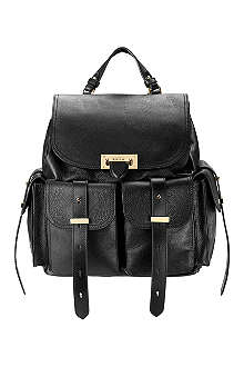 ASPINAL OF LONDON Letterbox leather backpack
