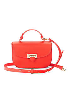 ASPINAL OF LONDON Letterbox leather saddle bag