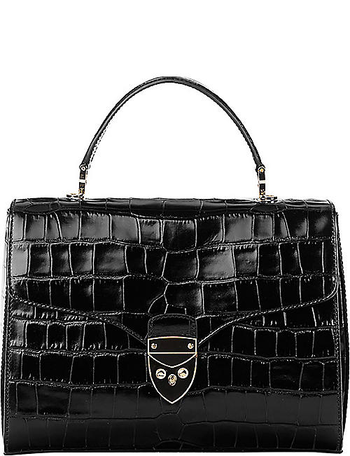 f5f16551403 ASPINAL OF LONDON Mayfair leather cross-body bag