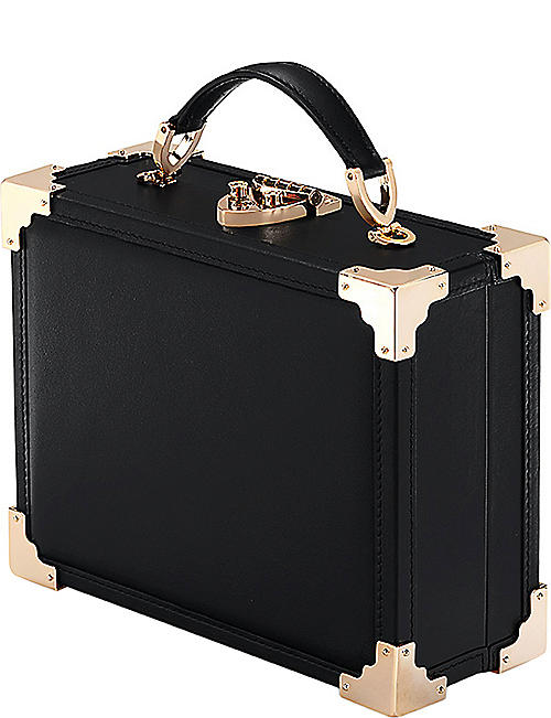 ASPINAL OF LONDON Trunk patch clutch bag