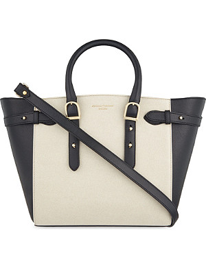 ASPINAL OF LONDON Marylebone medium leather tote bag