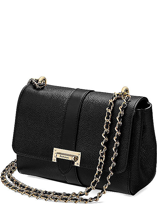 ASPINAL OF LONDON Lottie leather shoulder bag
