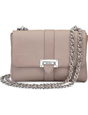 ASPINAL OF LONDON Lottie large pebble leather bag