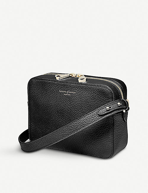 948d4a095c ASPINAL OF LONDON Camera leather cross-body bag