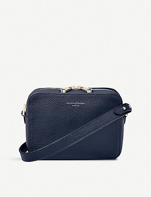 50eb8993541a2 ASPINAL OF LONDON Camera leather cross-body bag