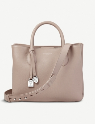 ASPINAL OF LONDON London small leather tote bag