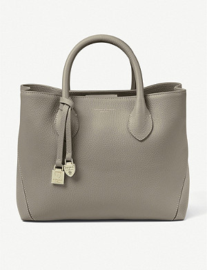 ASPINAL OF LONDON Midi London leather tote bag
