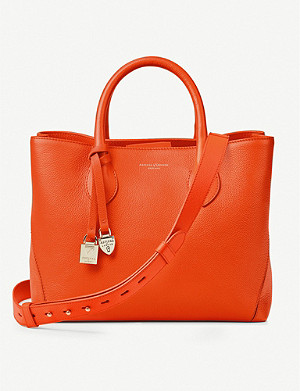 ASPINAL OF LONDON London midi leather tote bag