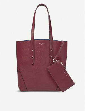 ASPINAL OF LONDON Essential leather tote bag