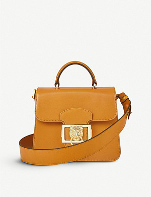 ASPINAL OF LONDON Small Lion Lansdowne leather top-handle bag