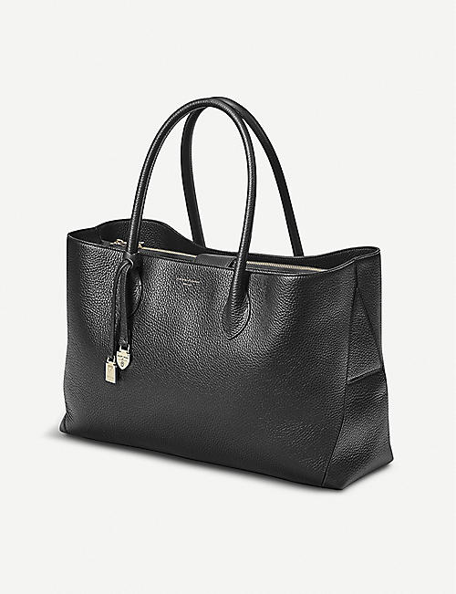 3419aa0aa5c ASPINAL OF LONDON London large leather tote bag