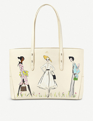 ASPINAL OF LONDON Giles Deacon X Aspinal of London Regent leather tote bag
