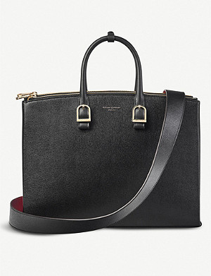 ASPINAL OF LONDON Madison leather shoulder bag