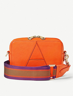 ASPINAL OF LONDON Camera A leather cross-body bag