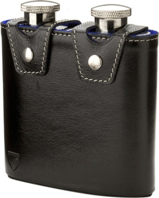 ASPINAL OF LONDON Double hip flask