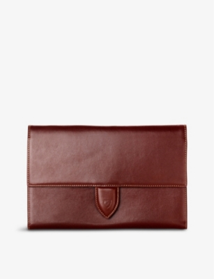 ASPINAL OF LONDON Deluxe leather travel wallet