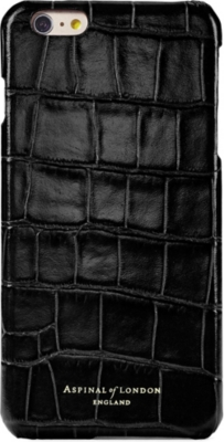 ASPINAL OF LONDON iPhone 7 crocodile-embossed leather sleeve