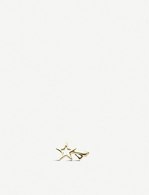 LOQUET Shooting Star 18ct yellow-gold charm