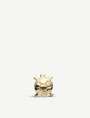 LOQUET Tortoise 18ct gold charm
