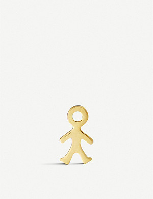 LOQUET For Him 18ct yellow-gold boy charm