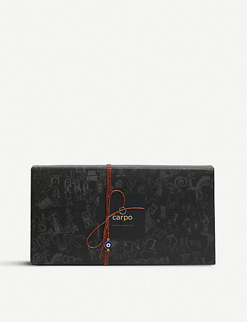 CARPO Mixed dark and milk chocolate hazelnut pieces 450g