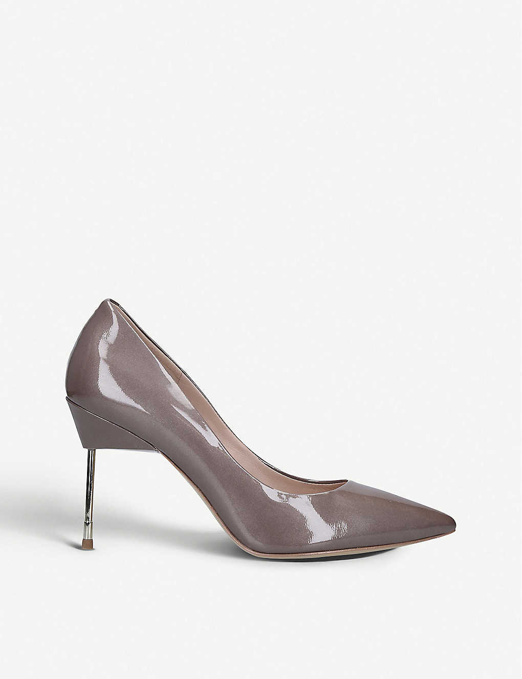 KURT GEIGER LONDON: Britton 90 patent-leather courts