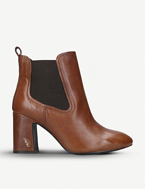 KURT GEIGER LONDON Raylan heeled leather Chelsea boots