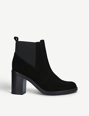 KURT GEIGER LONDON 西西里 2 绒面革踝靴