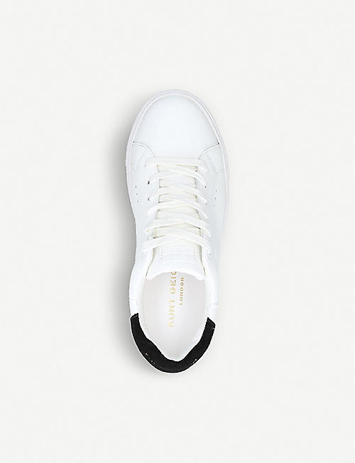 KURT GEIGER LONDON Laney leather trainers