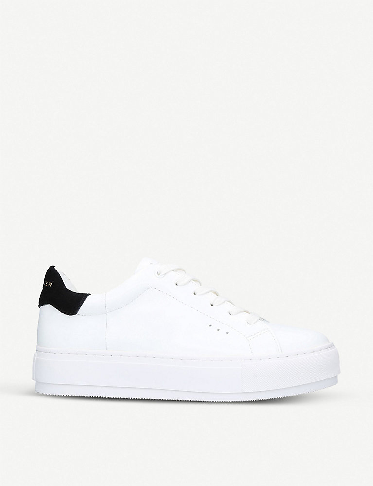 Kurt Geiger Laney leather trainers