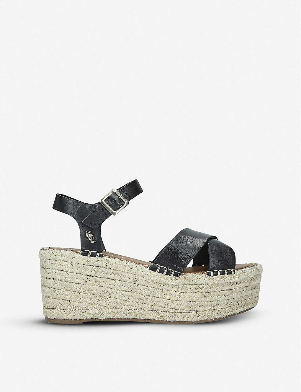446e516d168 Arlo leather platform espadrilles