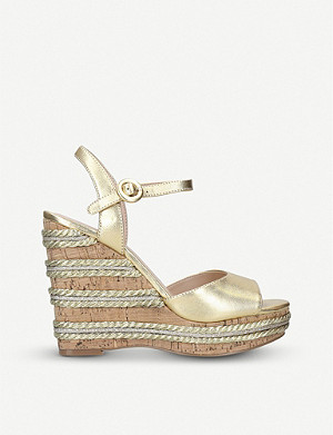 KURT GEIGER LONDON Ally leather sandals