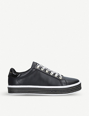 KURT GEIGER LONDON Lambert leather trainers